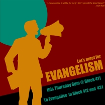 Evangelism Blue
