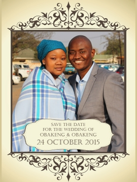Obakeng Save the date