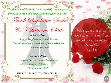 Tshadi's Wedding Card3
